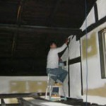 漆喰材☆うまくぬれ〜るで壁補修