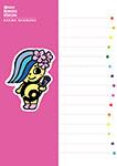 なんもく村マスコットなんしぃちゃん☆ポストカード Pink