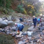 防火用水☆川たたき