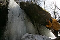 1月☆イモリの滝