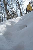 2月9日☆雪の立岩