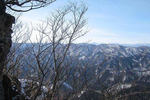 西立岩☆八ヶ岳方面