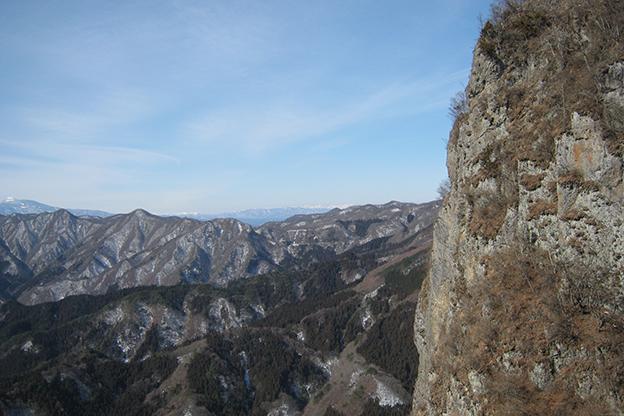 西立岩☆乗鞍岳方面