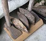 昔の石切道具