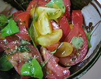 ルッコラ☆トマトサラダ