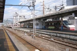 東武伊勢崎線☆赤城駅