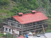 棟・越屋根・鬼つき屋根